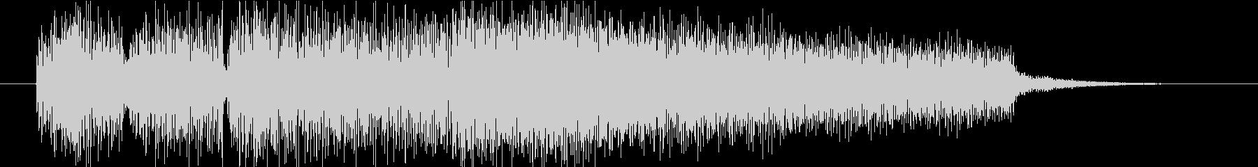 サウンドロゴ(エレキピアノ・しっとり)の未再生の波形