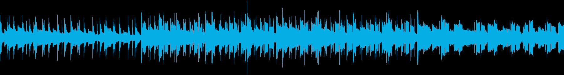 (Loop)ふんわりチルアウト系の再生済みの波形