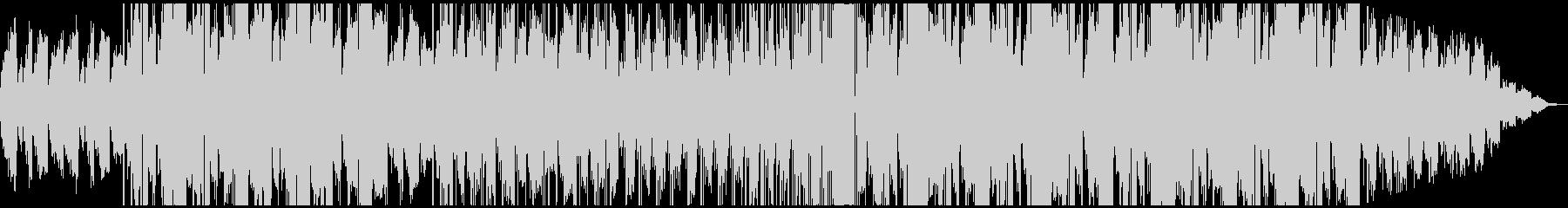 可愛い系LoFiエレクトロ ミドルテンポの未再生の波形