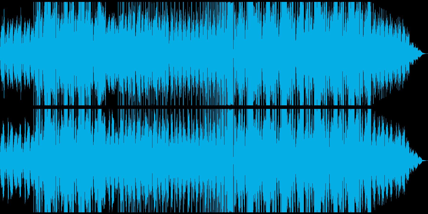 可愛い系LoFiエレクトロ ミドルテンポの再生済みの波形