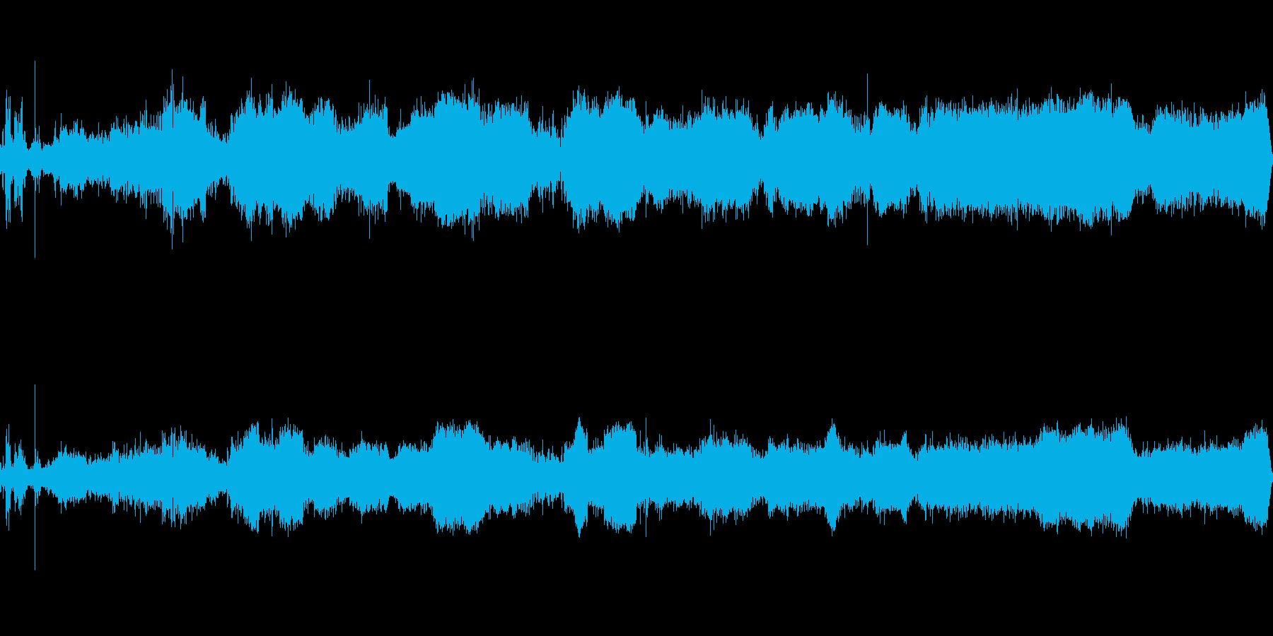 車シボレーノヴァドライブインテリアの再生済みの波形