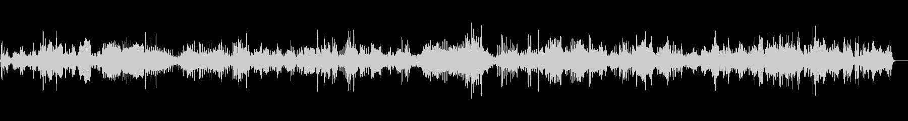 教会に響き渡るバイオリン独奏曲5の未再生の波形