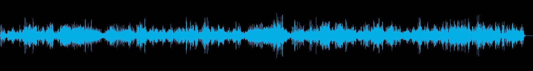 教会に響き渡るバイオリン独奏曲5の再生済みの波形