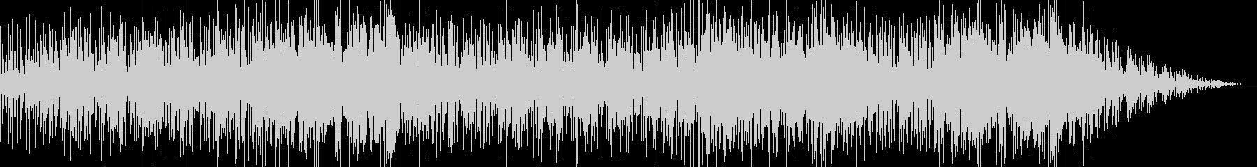 爽やかなバウンドサウンドの洋楽風ポップスの未再生の波形