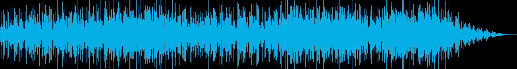 爽やかなバウンドサウンドの洋楽風ポップスの再生済みの波形