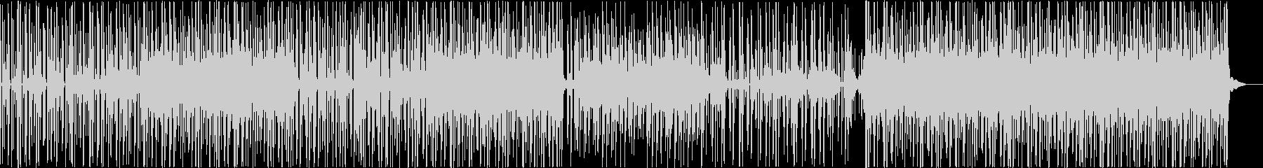 グルーヴ感のあるロードムービーBGMの未再生の波形