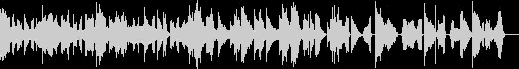 シネマティックトレーラーの未再生の波形