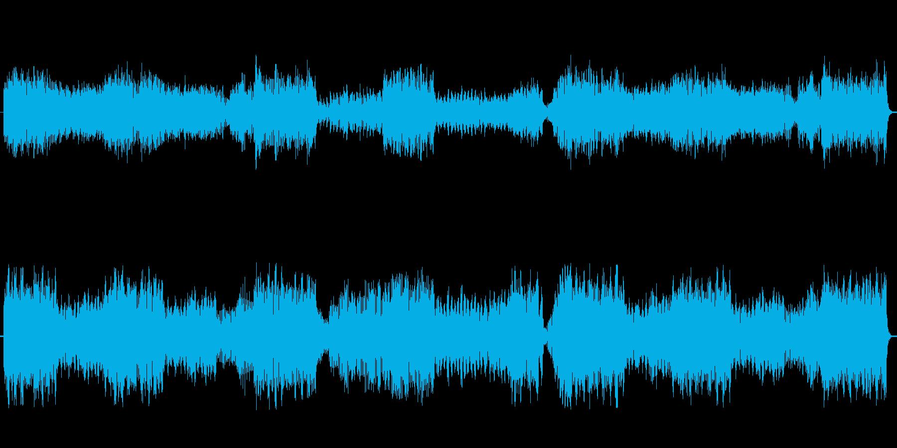 ファンタジーRPGの王宮をイメージした…の再生済みの波形