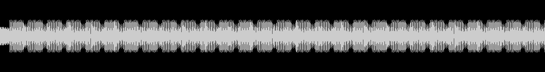 テクノ風のLofi Chill waveの未再生の波形