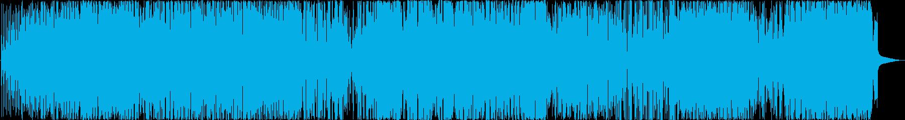 モダンジャズ。フュージョンとジャズ...の再生済みの波形