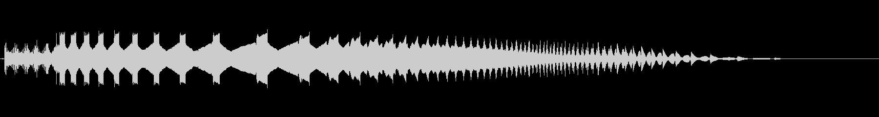 インターフェース画面6の未再生の波形