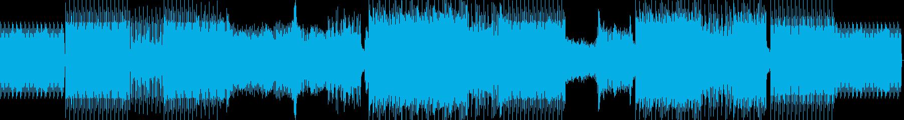 悪、悪、悪の再生済みの波形