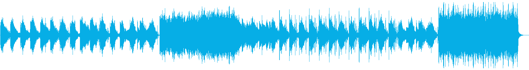 天体観測をイメージしたエレクトロニカの再生済みの波形