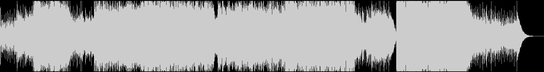 爽やか・スローテンポなハウス系のBGMの未再生の波形