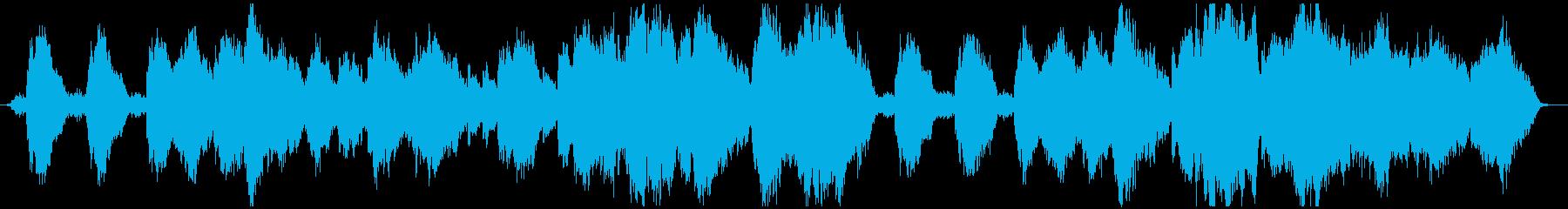 映画風感動のエンディングストリングスの再生済みの波形