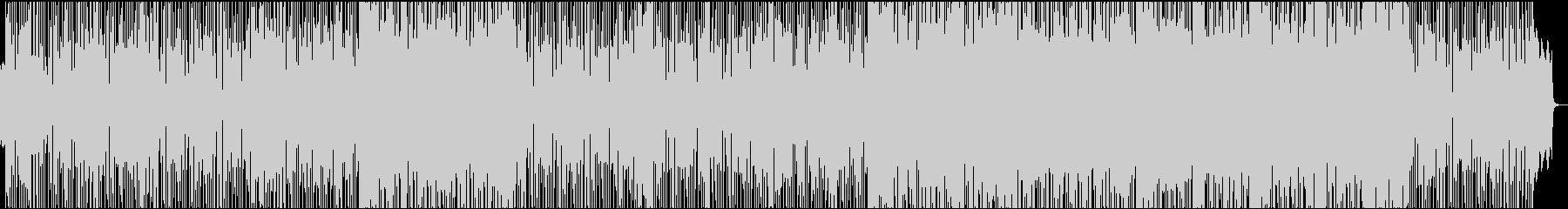 楽しい雰囲気のファンキーポップの未再生の波形
