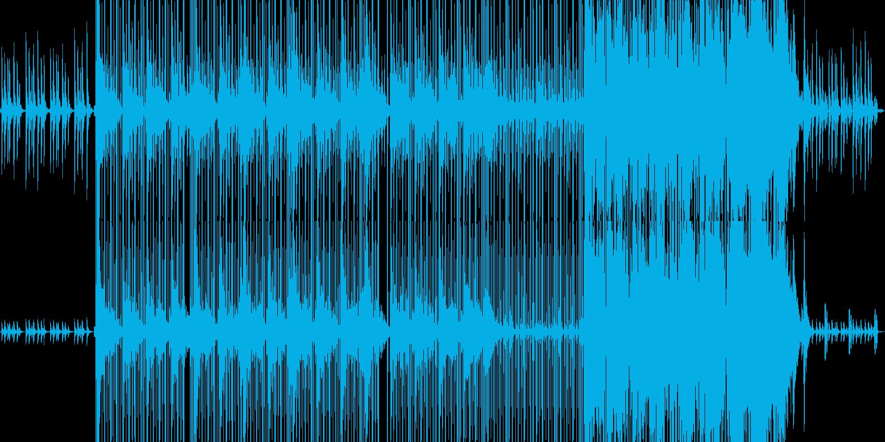 JIINO/ピアノのスローヒップホップの再生済みの波形