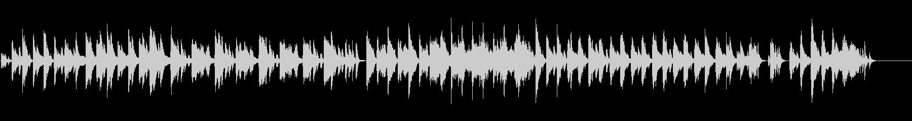 ハープのファンタジーな曲の未再生の波形