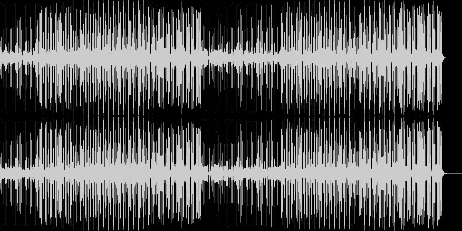 4つうちポップなBGMの未再生の波形