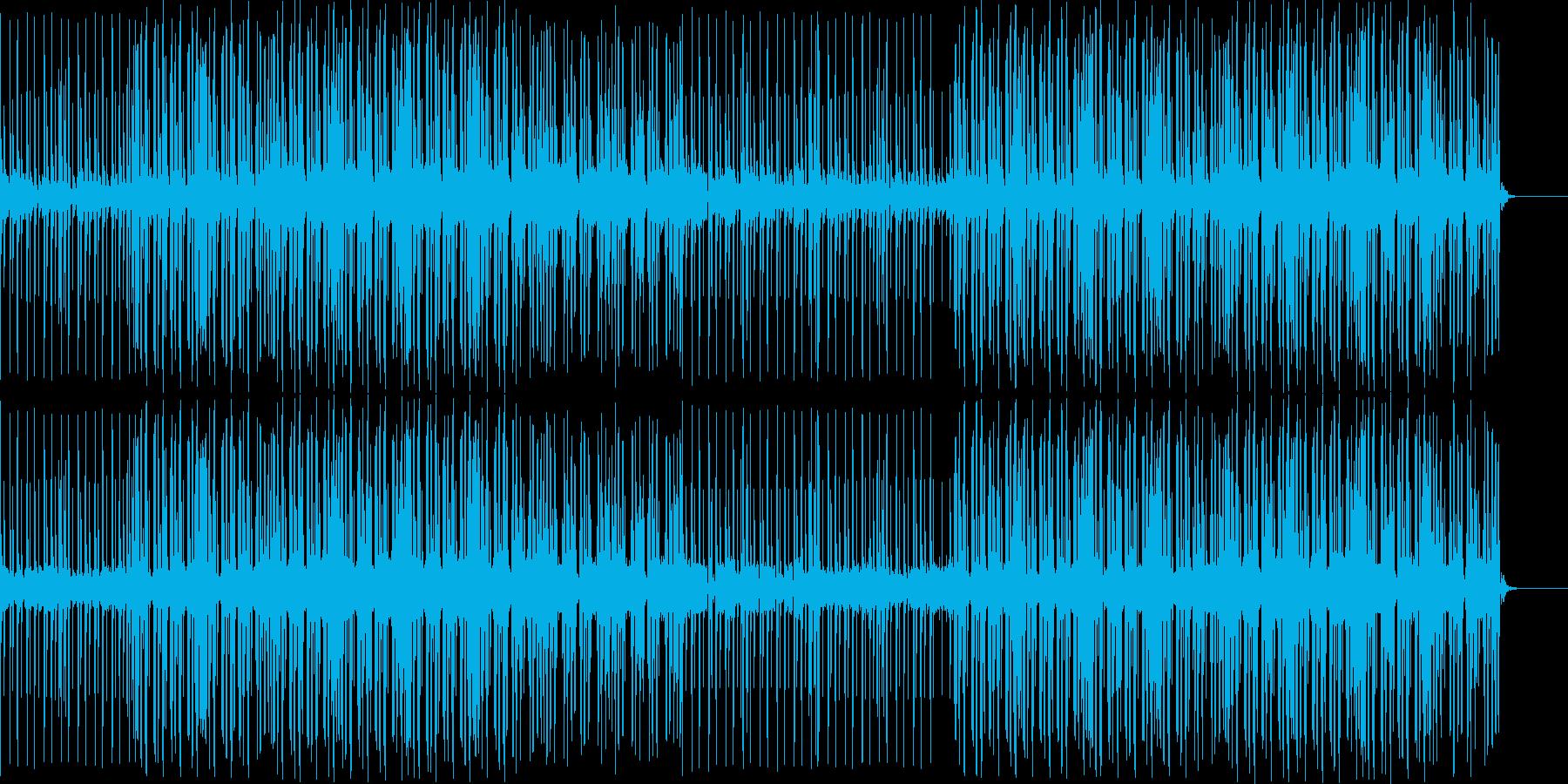 4つうちポップなBGMの再生済みの波形