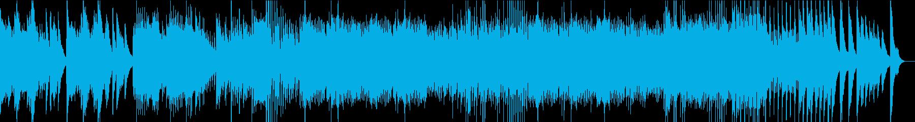 リズミカルなピアノソロの再生済みの波形