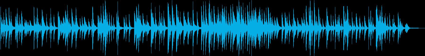ノスタルジックな終焉 ピアノバラードの再生済みの波形