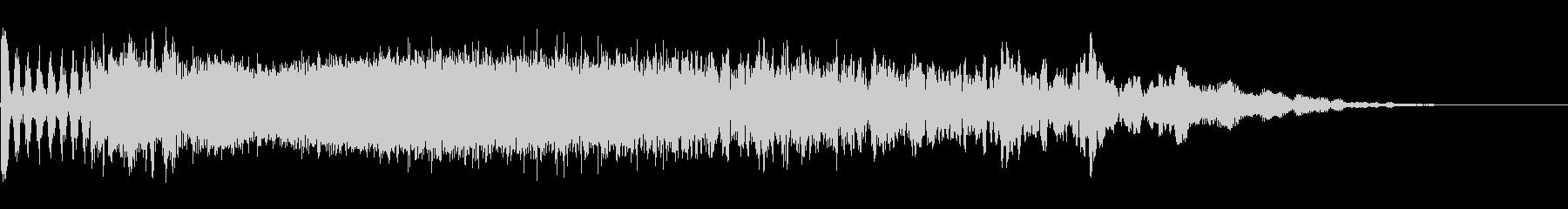 ジングル制作に最適な効果音の未再生の波形