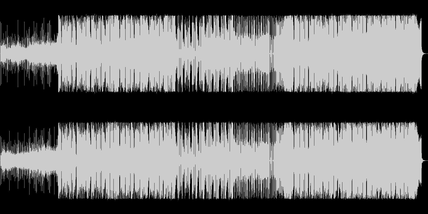 低音がかっこいいEDMの未再生の波形