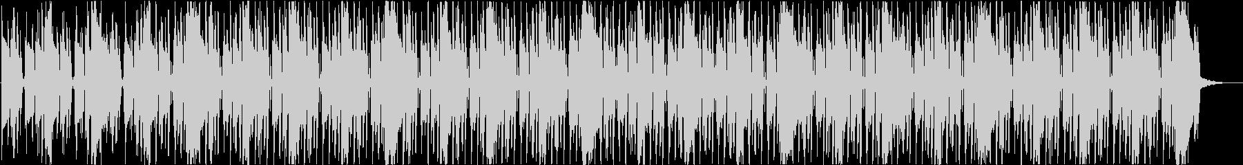 背景ヒップホップ、ファンクの未再生の波形