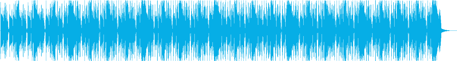 背景ヒップホップ、ファンクの再生済みの波形
