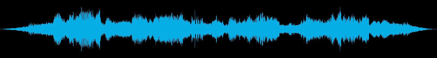 アジア センチメンタル 感情的 説...の再生済みの波形