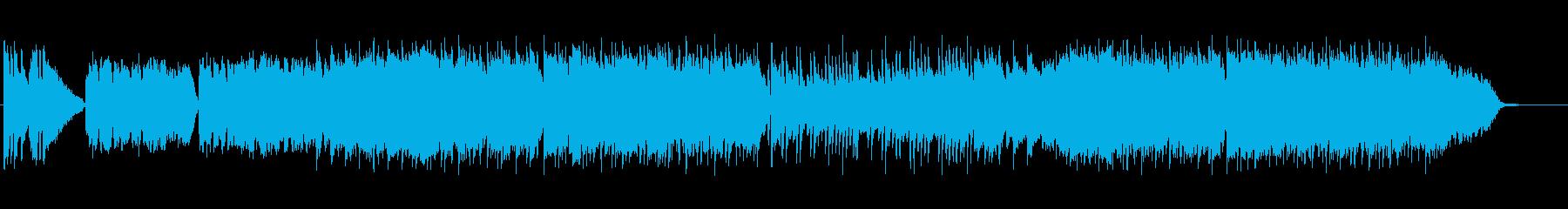 懐かしく暖かなイージーリスニングの再生済みの波形