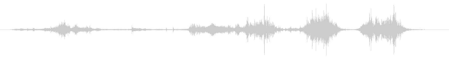 ミディアムメタルピース:Gritt...の未再生の波形