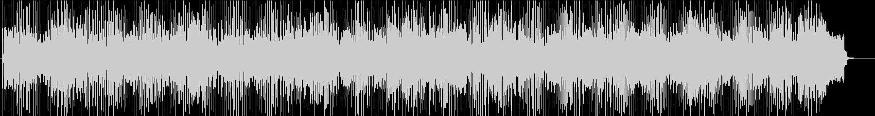 テナーの合間にエレピソロ重めフュージョンの未再生の波形