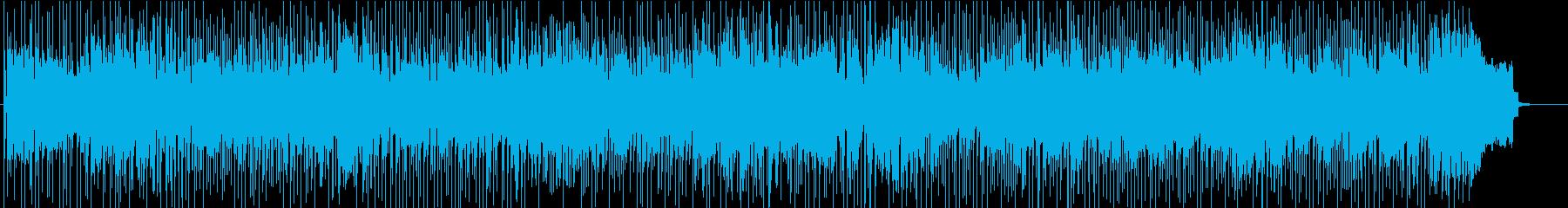 テナーの合間にエレピソロ重めフュージョンの再生済みの波形
