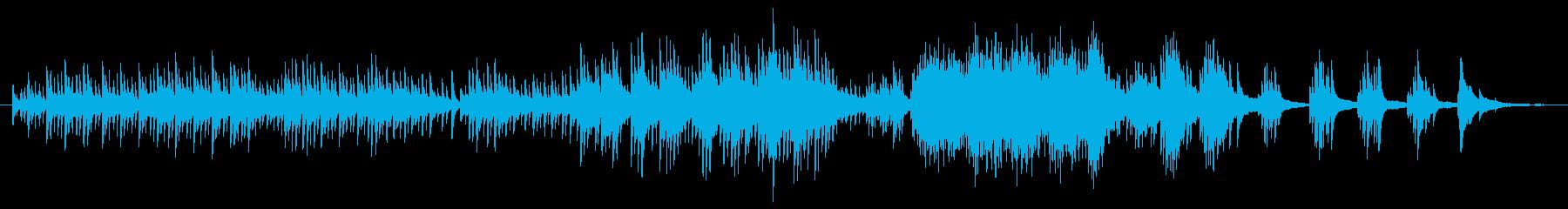 和風 桜 吹雪ナイアガラ ■ ピアノソロの再生済みの波形