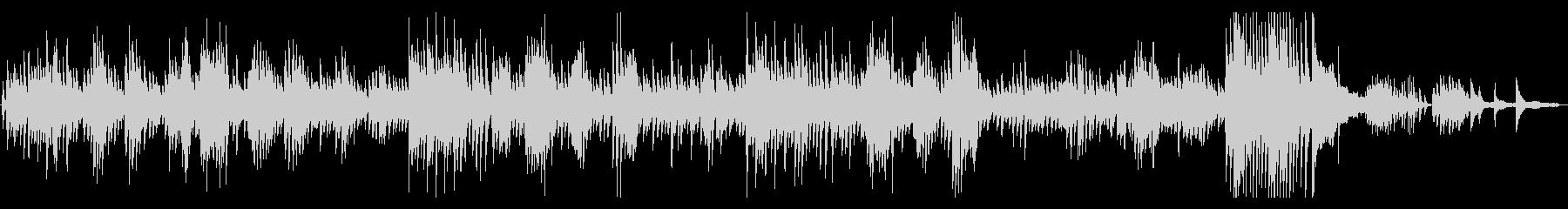 クラシック ショパンのノクターン の未再生の波形