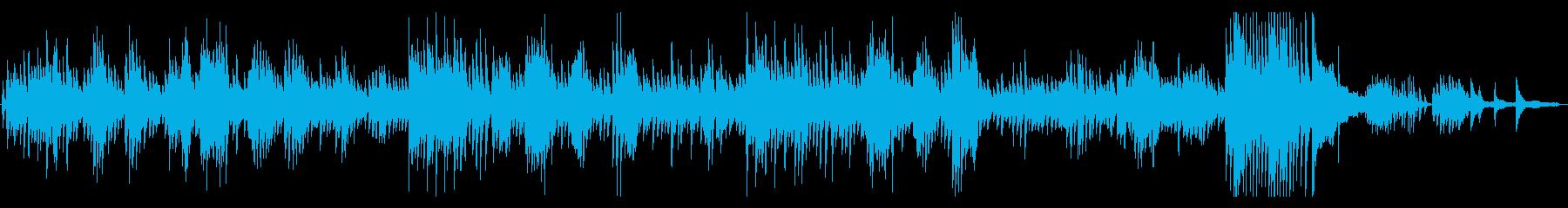 クラシック ショパンのノクターン の再生済みの波形