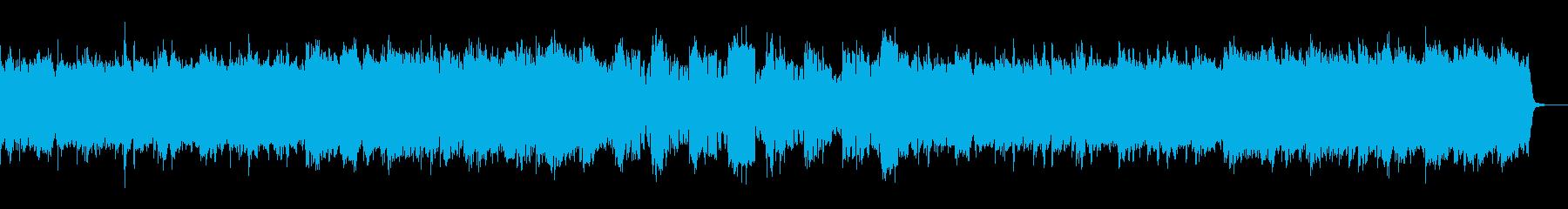 優しい・ほのぼの・日常・ゲーム向けBGMの再生済みの波形