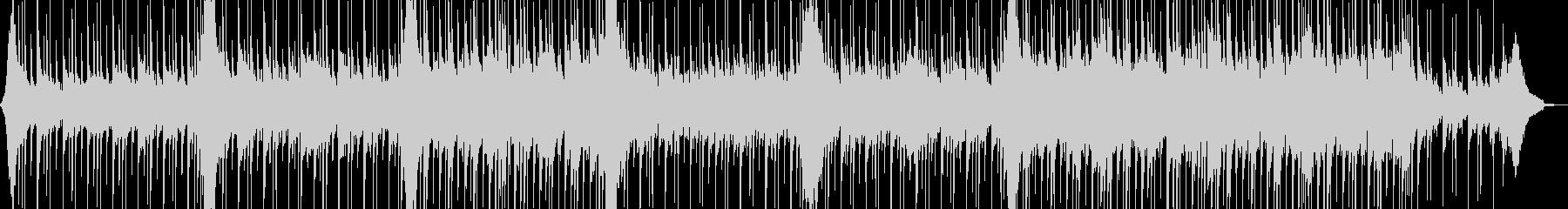 爽快リズミカルなアコギ・ピアノポップスの未再生の波形