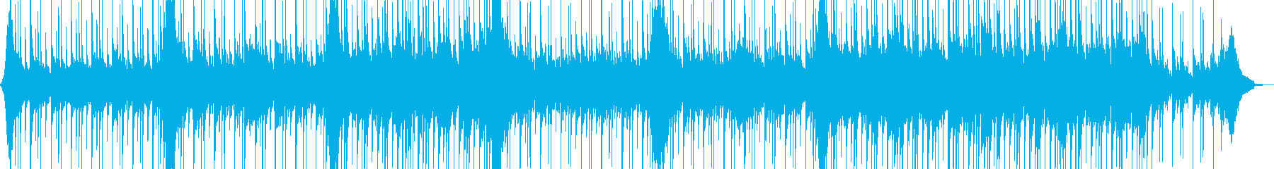 爽快リズミカルなアコギ・ピアノポップスの再生済みの波形