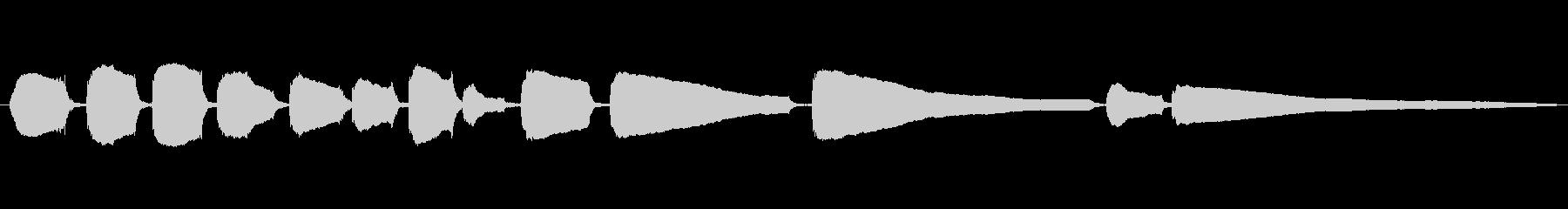 生音エレキギター3弦チューニング2の未再生の波形