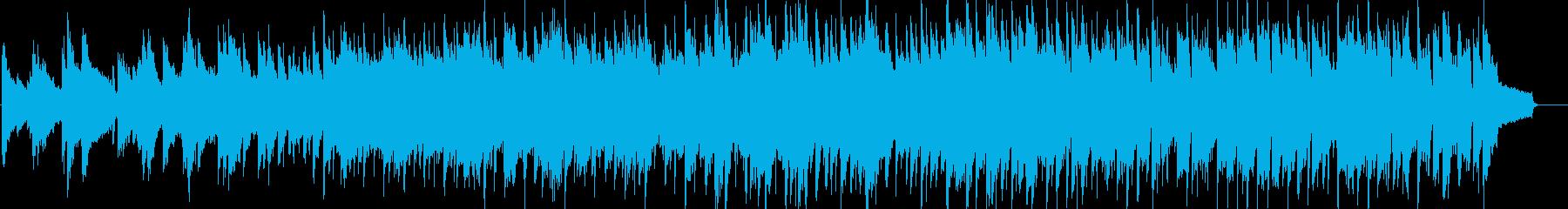 爽やか・軽快・ほのぼの・日常・ピアノの再生済みの波形