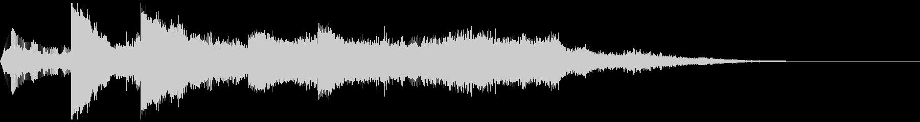 サウンドロゴ 5の未再生の波形