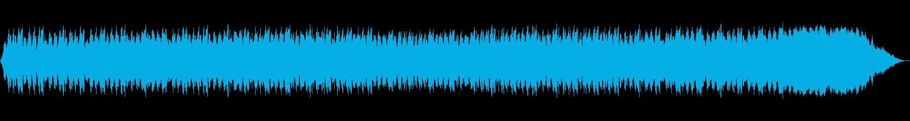 水の中の再生済みの波形