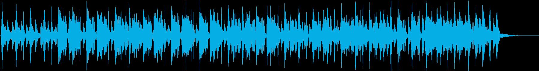 パイナップルをテーマにした楽曲の再生済みの波形