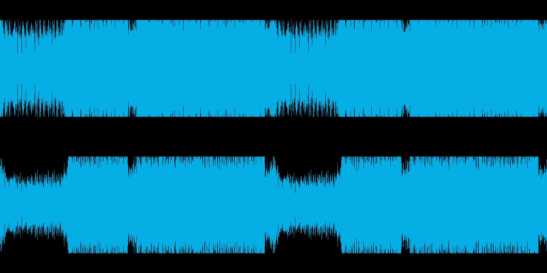 ループ:バトル戦/サイバー/ギターテクノの再生済みの波形