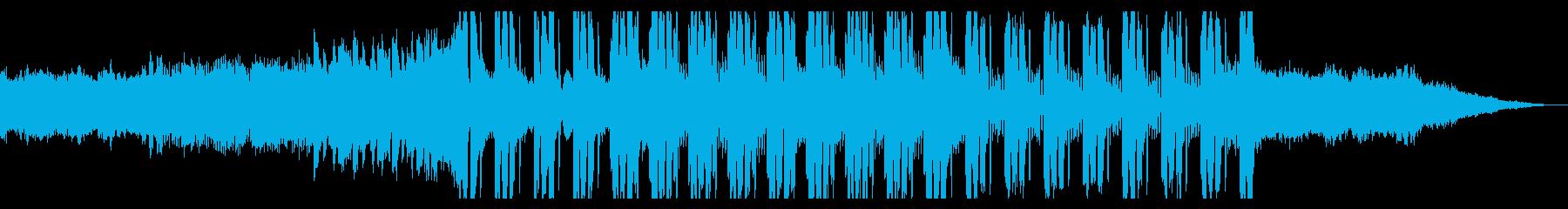 FutureBass 夜 モダン EDMの再生済みの波形