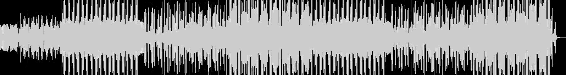 シンセポップなクラブダンスミュージックの未再生の波形
