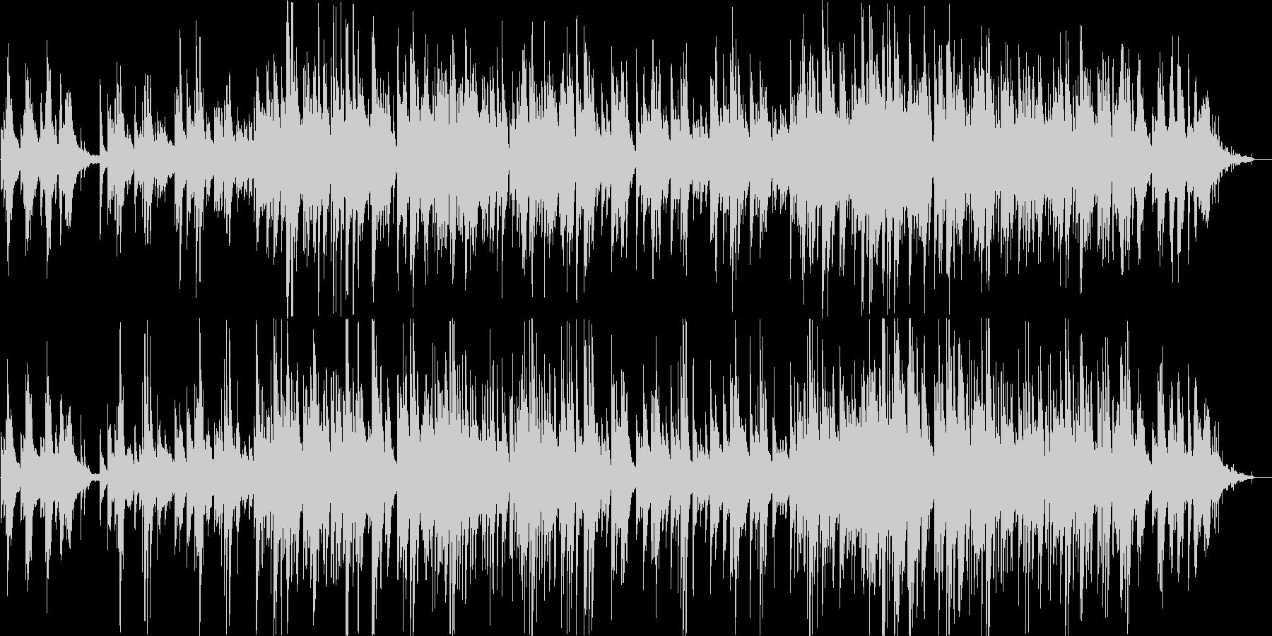 ピアノとギターが印象的なバラードの未再生の波形